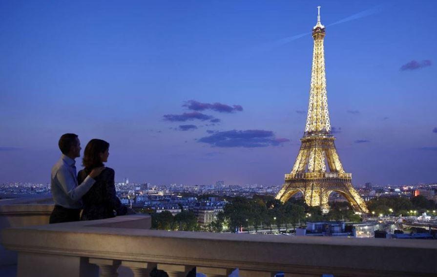 Anochecer en Paris
