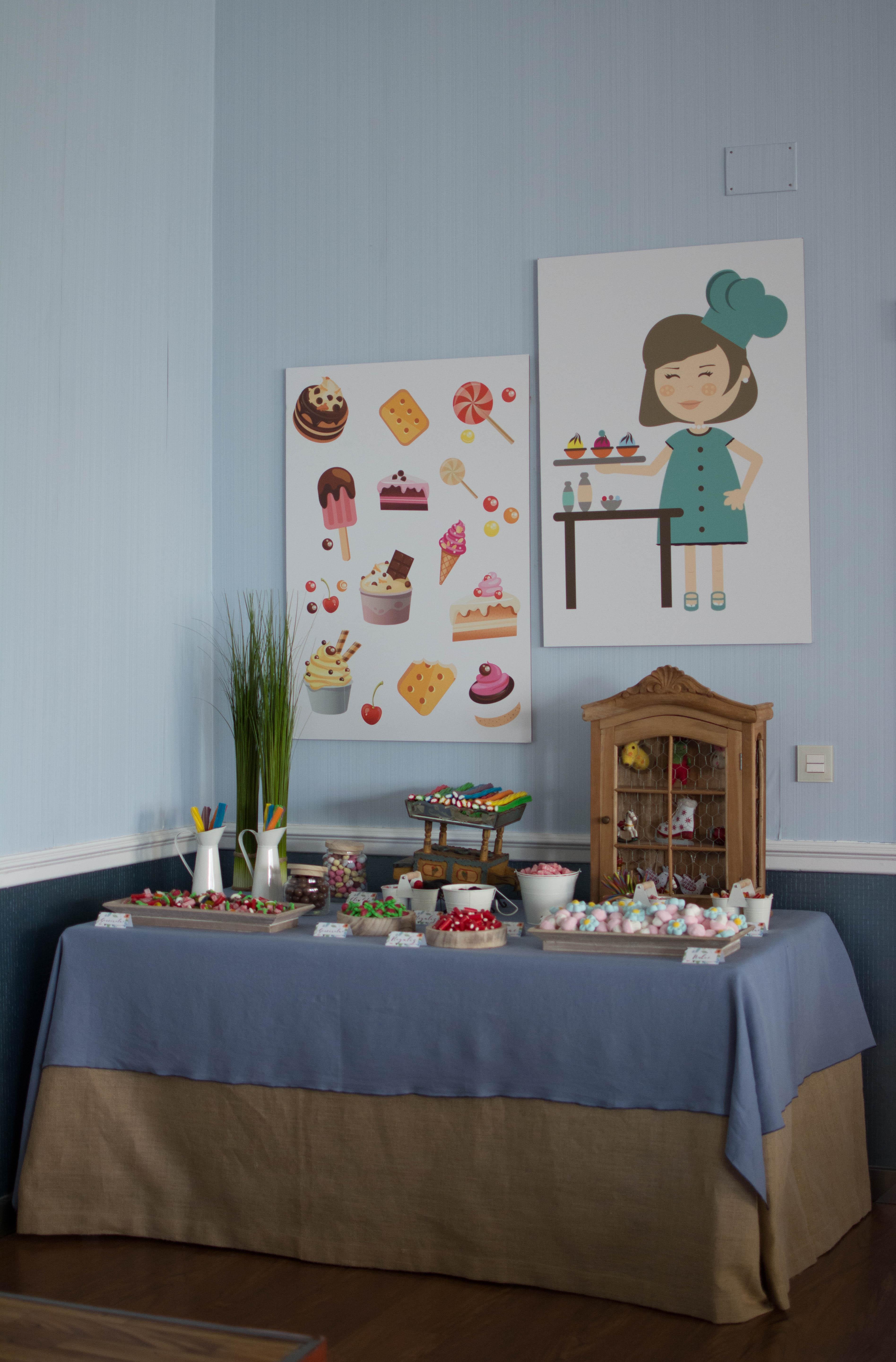 Mesa dulce cocinera