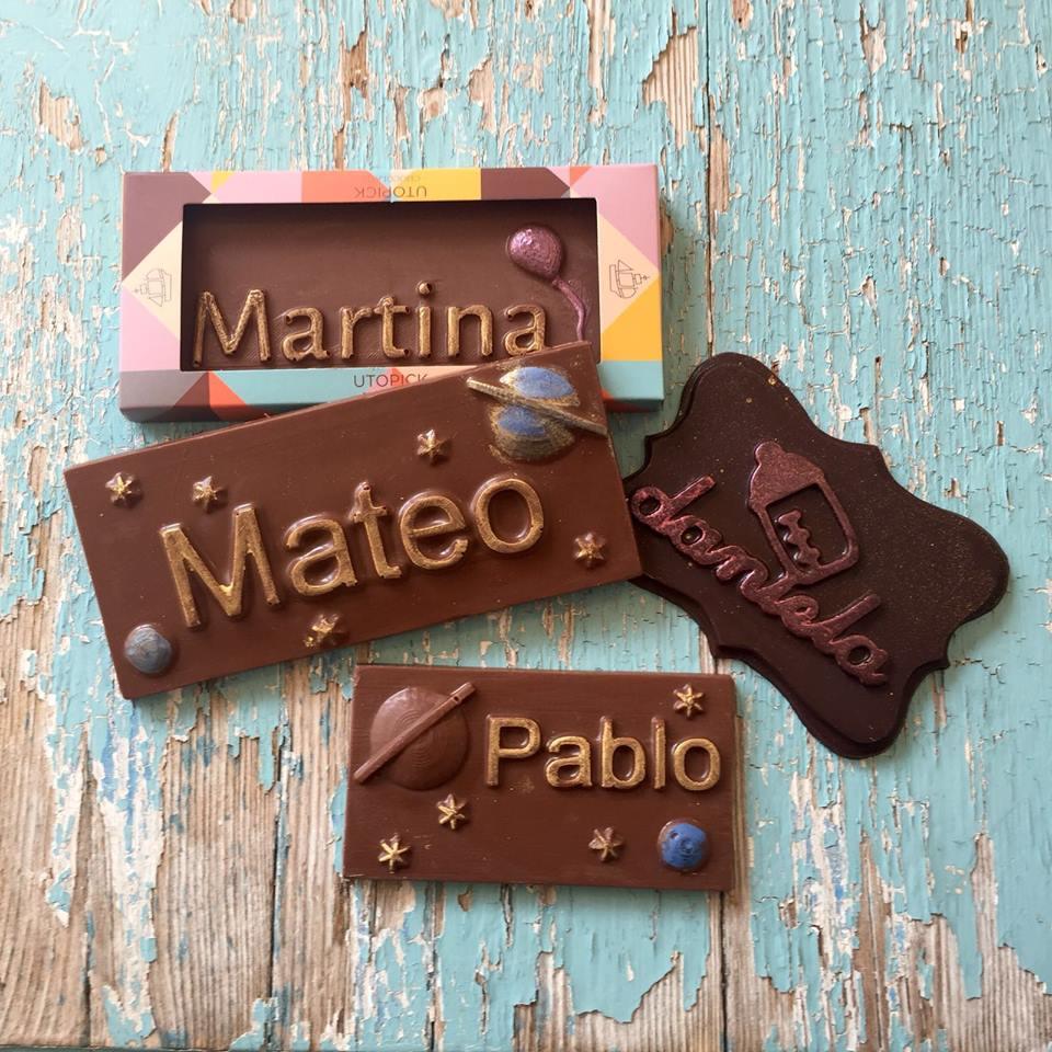 Chocolatinas comunión